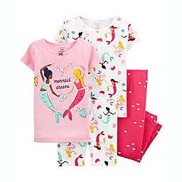 carter's® 4-Piece Cotton Pajama Set