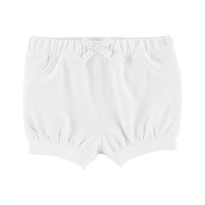Alternate image 1 for carter's® Pull-On French Terry Shorts