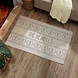 Mud Paint Pattern Personalized Area Rug