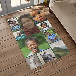Photo Collage Personalized Area Rug