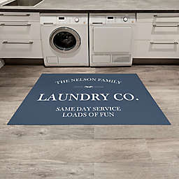 Laundry Co. Personalized Area Rug