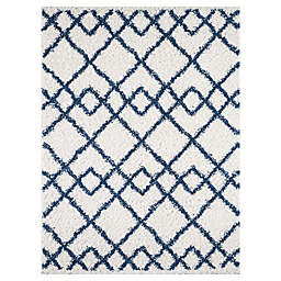 KAS Pax Trends 7'10 x 10'10 Area Rug in Blue