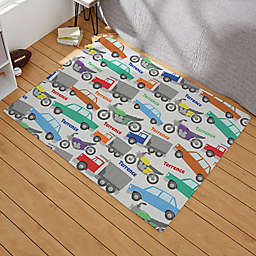 Modes of Transportation Personalized Area Rug