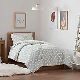 UGG® Avery Star 3-Piece Reversible King Comforter Set in Grey/White