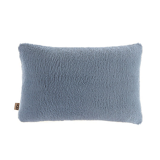 Alternate image 1 for UGG® Teddie Faux Fur Oblong Throw Pillow