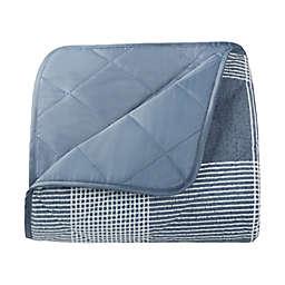 UGG® Mischa Quilted Outdoor Throw Blanket in Blue