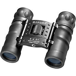 Barska® 8x21mm Style Compact Binoculars in Black