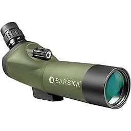 Barska® 18-36x50mm WP Blackhawk Spotting Scope Angled in Green/Black