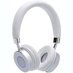Contixo KB-200 Bluetooth Wireless Kids Over-the-Ear Headphones in White