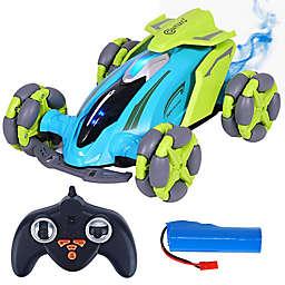 Contixo® SC4 Remote Control Car with 360° Rotation in Blue Smoke