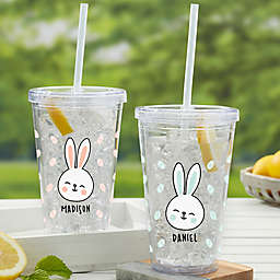 Bunny Treats Acrylic Insulated Tumbler