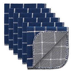 DII® Windowpane Scrubber Dish Cloths (Set of 6)