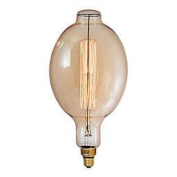 Bulbrite Grand Nostalgic 60-Watt BT56 Light Bulb in Amber