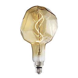 Bulbrite Grand Nostalgic 4-Watt Jewel LED Light Bulb in Amber