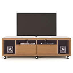 Manhattan Comfort Cabrini TV Stand 1.8 in Maple Cream
