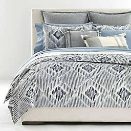 Lauren Ralph Lauren Austin Diamond 3-Piece Comforter Set in Grey/Blue