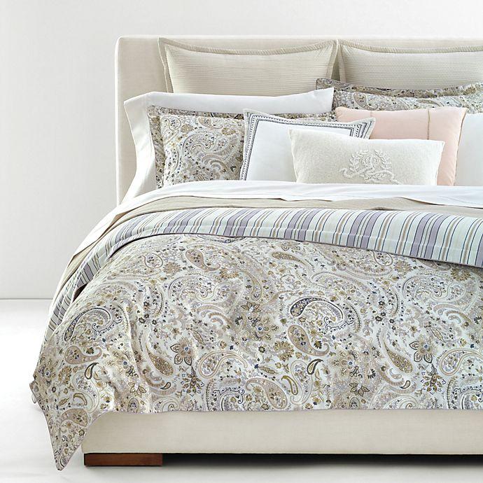 Alternate image 1 for Lauren Ralph Lauren Estella 3-Piece Reversible Duvet Cover Set in Cream