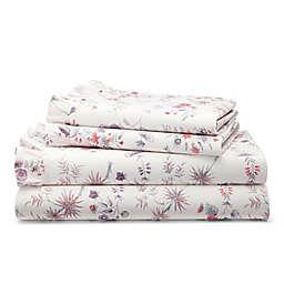 Lauren Ralph Lauren Maddie 230-Thread-Count Sheet Set in Cream/Multi