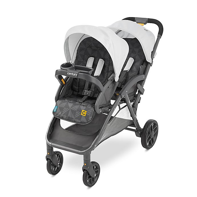 Alternate image 1 for Century® Stroll On™ Duo Lightweight Double Stroller in Metro