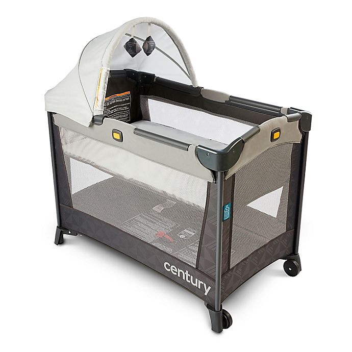 Alternate image 1 for Century® Travel On™ LX 2-in-1 Compact Playard with Bassinet in Metro