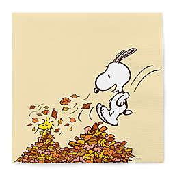 GRAPHIQUE DE FRANCE® Peanuts™ 20-Count Snoopy Harvest Paper Cocktail Napkins