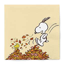 GRAPHIQUE DE FRANCE® Peanuts™ 20-Count Snoopy Harvest Luncheon Napkins