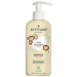 Attitude® Natural Care 16 oz. 2-In-1 Shampoo and Body Wash in Pear Nectar