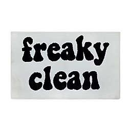 "Wild Sage™ Freaky Clean 20"" x 33"" Knitted Bath Rug"