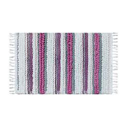 """Wild Sage™ Silvia Stripes 20"""" x 33"""" Handloomed Bath Rug"""