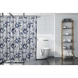 Moda 72-Inch x 72-Inch Noya Shower Curtain in Blue/White