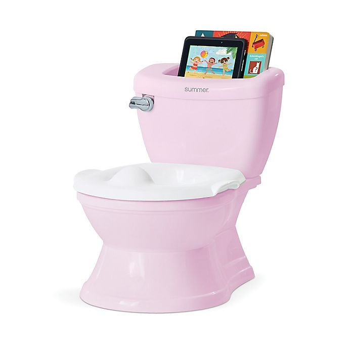 Alternate image 1 for Summer®  My Size® Potty with Transition Ring & Storage in Pink