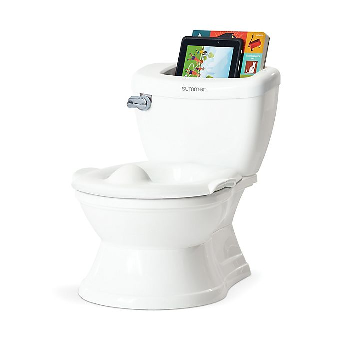 Alternate image 1 for Summer® My Size® Potty with Transition Ring & Storage