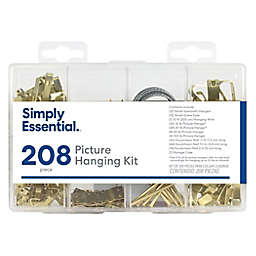 Simply Essential™ 208-Piece Picture Hanging Kit in Gold