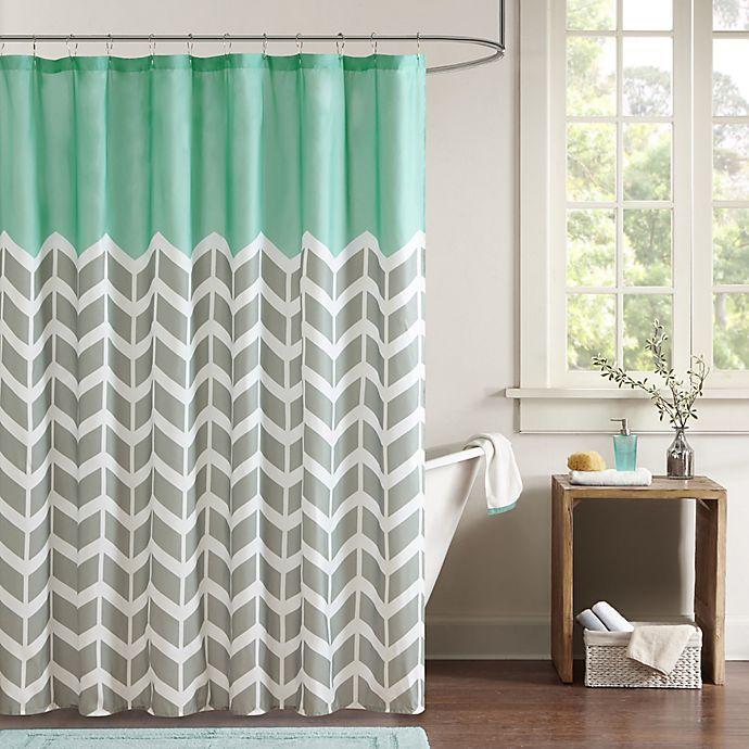 Alternate image 1 for Intelligent Design Nadia Shower Curtain