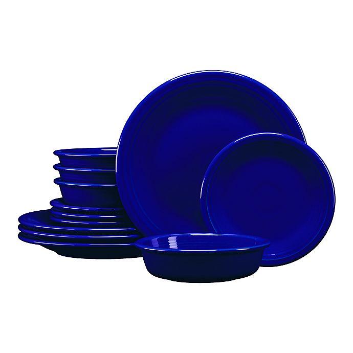 Alternate image 1 for Fiesta® 12-Piece Classic Dinnerware Set in Twilight