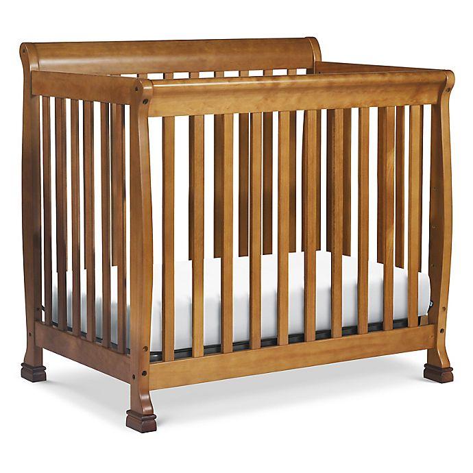 Alternate image 1 for DaVinci Kalani 4-in-1 Convertible Mini Crib in Chestnut