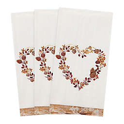 Nature Heart 32-Count Paper Guest Towels