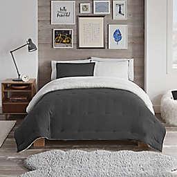 UGG® Devon Faux Sherpa 2-Piece Reversible Twin/Twin XL Comforter Set
