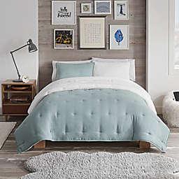 UGG® Devon Faux Sherpa 3-Piece Reversible Full/Queen Comforter Set in Succulent