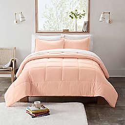 UGG® Devon 3-Piece Reversible Full/Queen Comforter Set in Peach Flower