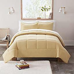UGG® Devon 3-Piece Reversible King Comforter Set in Sahara Sun