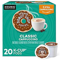 The Original Donut Shop® Classic Cappuccino Keurig® K-Cup® Pods 20-Count