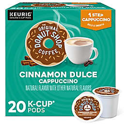 The Original Donut Shop® Cinnamon Dulce Cappuccino Keurig® K-Cup® Pods 20-Count