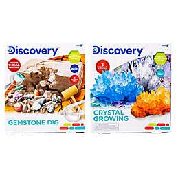 Discovery™ Gemstone Dig & Crystal Growing Bundle Pack