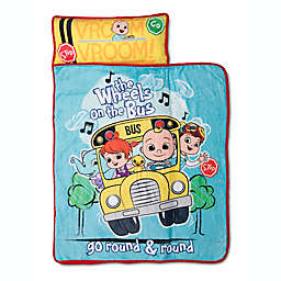 Cocomelon Wheels On The Bus Toddler Nap Mat