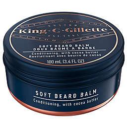 King C. Gillette 3.4 oz. Men's Soft Beard Balm