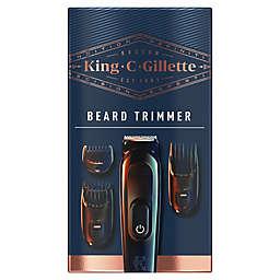 King C. Gillette Cordless Men's Beard Trimmer Shave Set