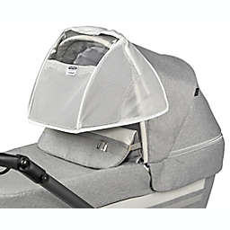 Peg Perego The Breath Stroller and Bassinet Net Canopy in White