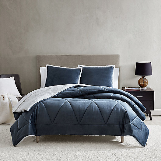 Alternate image 1 for UGG® Avery 2-Piece Reversible Twin/Twin XL Comforter Set