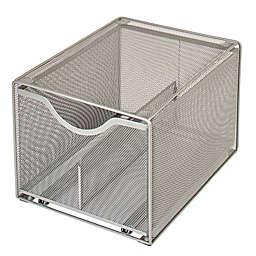 Squared Away™ Large Metal Mesh Stacking Drawer